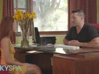 Vanna Bardot ginger vanna bardot gives massage and happy ending