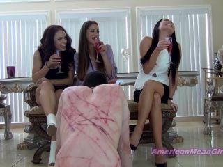 THE MEAN GIRLS - Princess Bella, Princess Beverly, Princess Carmela - Foot Worship For A Bad Slave!!!