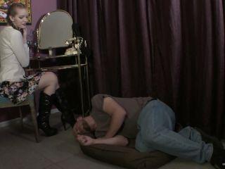 Footdom United – Boot Slaves. Starring Mistress Nyx  - boot domination - femdom porn femdom feminization