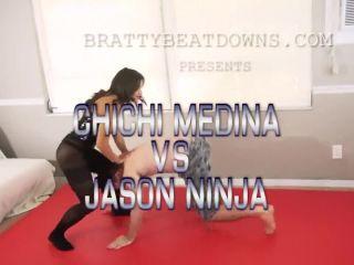 Bratty Beatdowns - ChiChi Medina VS Jason Ninja!!!