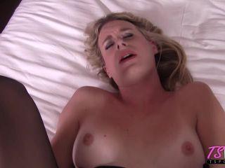 TSPOV presents Nikki Vicious in Gorgeous blonde TS takes the cock deep