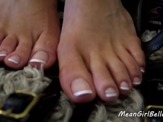 Princess Bella in Pathetic Foot Sucker