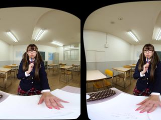 Virtual Dive Me and Miho Abe Alone in a Classroom