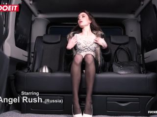 steak and blowjob surprise for czech taxi driver