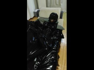 Black Latex Suit Kigurumi BreathPlay