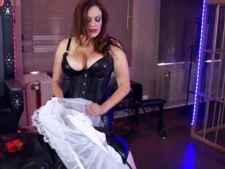 MistressAnns50ShadesOfArt: Mistress Ann, Lady Mercedes - Sissification Part 3, fetish kitsch on strap on