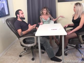 Real Estate Agent Nika Gets House By Making Husband Cum In Pants Under The Table Wife Unaware