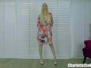 Lingerie – Charlotte Stokely – I Strip, You Suck - goddess charlotte stokely - pov lesbian nylon fetish