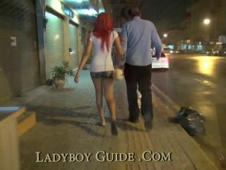 Empowered Thai Ladyboy with Pink Ejaculate