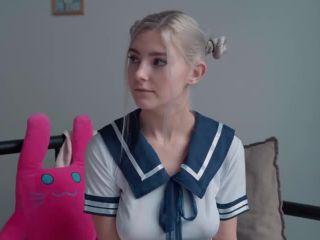 Eva Elfie - Kawaii Schoolgirl Gets Creampie And Facial - PornhubPremium, ModelHub (SD 2020)