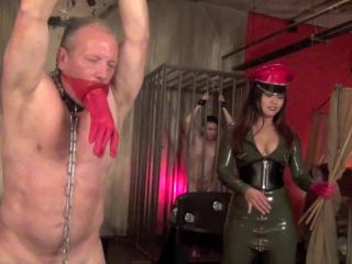Leather – Asian Cruelty – WEEPING FROM MASS DESTRUCTION starring Astro Domina
