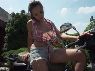Foot Fetish - Passionate Scooter Riding