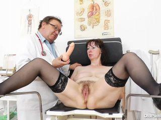 OldPussyExam - Blanka - Gyno  - pussy closeups - mature porn feet fetish party
