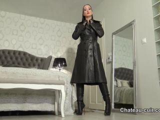 femdom sex positions Chateau-Cuir - Vintage leather worship and JOI, femdom on femdom porn