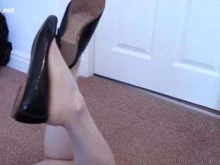 Ballet Flat Cum Lick – Shiny Shoejobs!!!