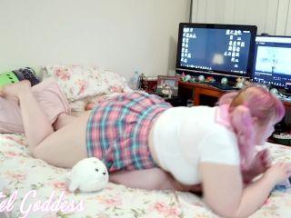 Pastel Goddess - Schoolgirl Uses Ignored Furniture to Cum!!!