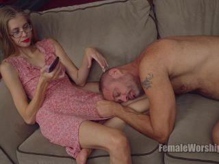 Orgasm – Female Worship – Entertain Me – Goddess Kyaa - pussy control - cumshot femdom feet slave