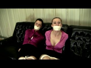 Two secretary bound and gagged