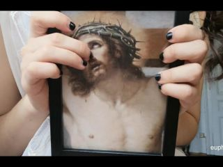 Mocking Jesus, God and the Virgin Mary