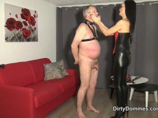 Dirty Dommes - Fetish Liza - Face Slapped by Mistress Fetish Liza - corporal punishment - fetish porn lea lexis femdom