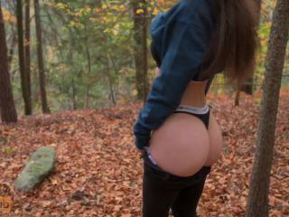Quickie Risky Blowjob in National Park Mini Diva