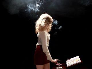 Smoking Porn - 8309 - Nicole 11 - smoking - smoking light fetish