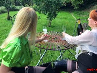 Red Milf XXX - 2019-01-11 - Lucy Gresty, Red - Boots And Bubbly