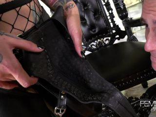 FemdomEmpire - Mistress Damazonia - Amazon Foot Crush!!!