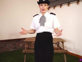 "Wankitnow – Laura ""Hard Evidence"" - joi - cumshot femdom male chastity"