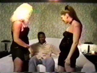Pregnant- Vintage preggo interracial trio