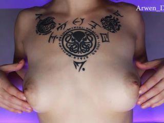 Arwen Datnoid – JOI Jerky it to my Tits - jerk off instruction - fetish porn crush fetish xxx