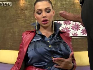 Super Shiny Glam Fashionista's Oily Jugs and Anal Gaping DP Dream SinD ...