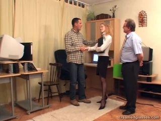 Irena - Horny job applicant 22 09 2008