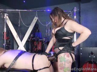 The English Mansion – Mistress Evilyne – Anal Destruction - strap-on - fetish porn vintage femdom
