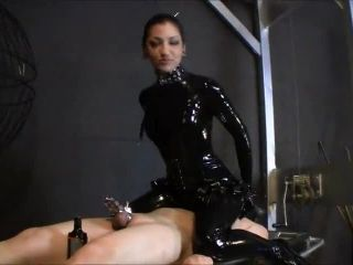 2673 Rubber Chastity Tease