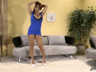 Jbvideo – Alyssa Lynn – Pantyhose Tease, vein fetish on fetish porn