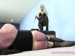 """THE MEAN GIRLS: """"BEAT THE WIG OFF IT"""" (1080 HD) (WHIPPING, CANING, PADDLING)"""