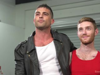 bdsm download muscle | Hot biker stud captures a hung ginger and mercilessly fucks his hole | anal