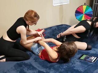 Scarlett and Helen Restrained