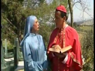 Horny cardinal fucks nun!