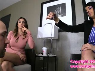 Bratprincess - Mia, Vienna - Boyfriend Trainer Councils a Young Couple (Part 1-2) (1080 HD) - vienna - femdom porn femdom mmf