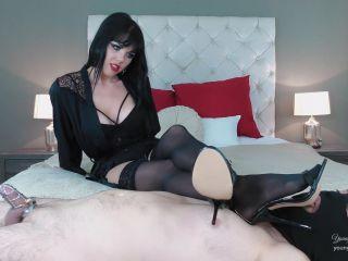 Young Goddess Kim - Cruel Intentions - Nylon Chastity Tease
