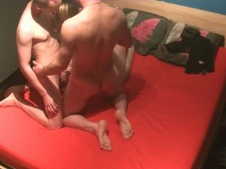 young amateur bisexual threesome mmf / bisexual swingers / dp vaginal
