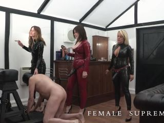 ultimate surrender anal Female Supremacy – Ladies' Club Part 1. Starring Mistress Tess , mistress scarlet on toys