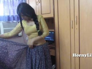 Indian bhabhi with big ass stripping naked
