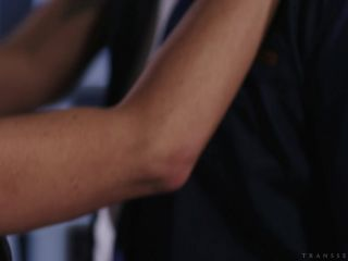 Wolf Hudson, Lena Kelly - Tatted Blonde TS Lena Kelly Gets Nailed on t ...