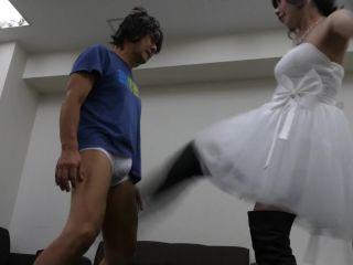 Ballbusting Bride.