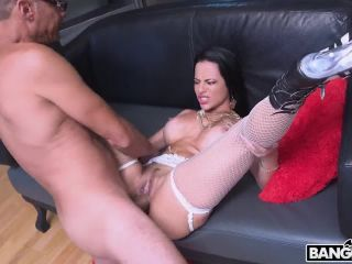 Analine - Ramon's Monster Cock in My Pussy and My Ass