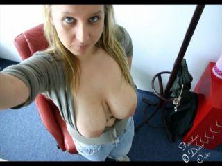 Shameless Girl in Bus
