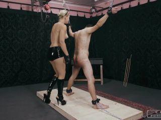 Bdsm – CRUEL PUNISHMENTS – SEVERE FEMDOM – Brutal shrieks from the slave part2 – Mistress Anette